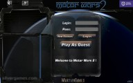 Motor Wars 2: Menu