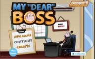 My Dear Boss: Menu