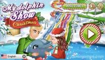 My Dolphin Show Christmas: Menu