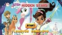 Nella The Princess Knight Hidden Stars: Menu