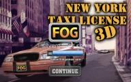 New York Taxi License 3D: Menu