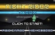 Night Rider Turbo: Menu