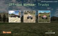 Offroad Monster Truck Simulator: Screenshot