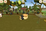 Oil Wrestling: Gameplay