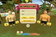 Oil Wrestling: Menu Wrestling