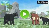 Panther Family Simulator 3D: Menu