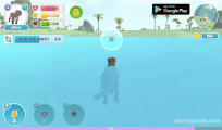 Panther Family Simulator 3D: Panther Swimming