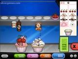 Papa's Cupcakeria: Gameplay
