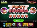 Papa's Sushiria: Building Game