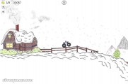 Paper Racer: Gameplay Winter Land