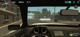 Parking Fury 3D: Gameplay Cockpit View