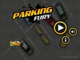 Parking Fury: Menu