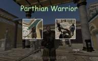 Parthian Warrior: Menu