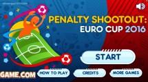 Penalty Shootout: Euro Cup 2016: Menu