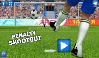 Penalty Shootout: Menu