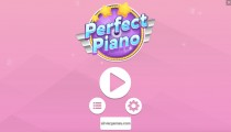 Perfect Piano: Menu