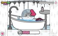Pet Salon Kitty Care: Gameplay Washing Kitten