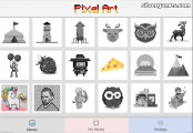 Pixel Art: Coloring