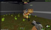 Pixel Gun 3D: Gameplay Shooting Block Graphic
