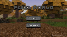 Pixel World: Menu