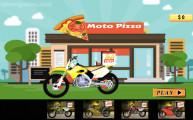 Pizza Delivery Simulator: Menu