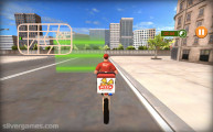 Pizza Delivery Simulator: Gameplay Delivering Spot