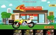 Pizza Delivery Simulator: Bike