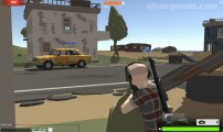 POBA (Polygonal Battlefield): Gameplay Attacking Driver
