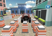 Police Car Parking: Screenshot