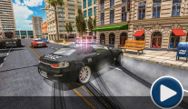 Police Car Stunt Simulator: Menu