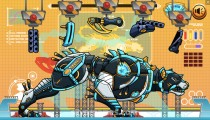 Police Robot Iron Panther: Gameplay Assembly Dog