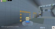 Portal 2 Coop: Gameplay Team Work