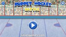 Puppet Hockey Battle: Menu