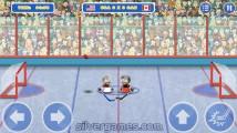 Puppet Hockey Battle: Gameplay Hockey Player