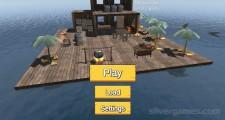 Raft Survival Simulator: Menu