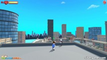 Ragdoll Gangs: Gameplay Fight On Roof