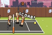 Ragdoll Tennis 2 Player: Scoring Tennis