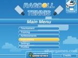 Ragdoll Tennis: Menu