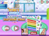 Rainbow Cake Cooking: Menu