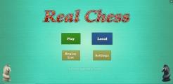 Real Chess Online 3D: Menu