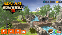 Real MTB Downhill 3D: Menu