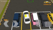 Realistic Parking: Gameplay Parking White Car