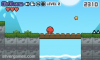 Red Ball 4: Gameplay Rolling Red Ball