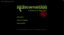 Reincarnation: Menu