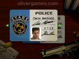 Resident Evil: Police Man Card