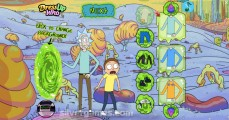 Rick And Morty Dress Up: Gameplay Background Cartoon