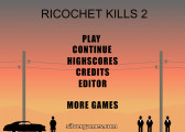 Ricochet Kills 2: Menu