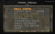 Rise Of The Triad: Menu