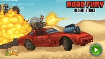 Road Of Fury 3: Menu