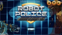 Robot Police Iron Panther: Menu
